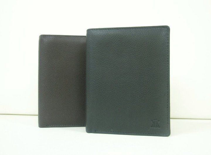 WALLET VERTICAL LEATHER GREEK ID,DRIVERS LICENCE,COIN POCKET