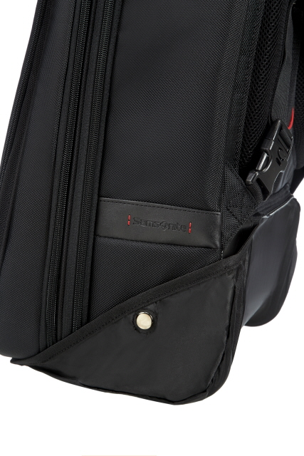 "SAMSONITE ΤΣΑΝΤΑ ΠΛΑΤΗΣ LAPTOP BACKPACK WITH WHEELS 17,3""PRO DLX4"