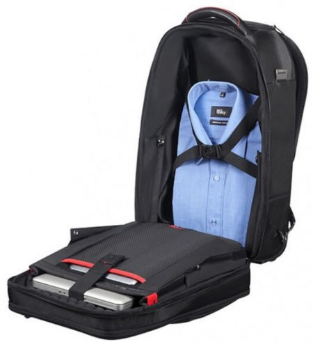 PRO-DLX 5 LAPTOP BACKPACK ΜΕ ΤΡΟΧΟ