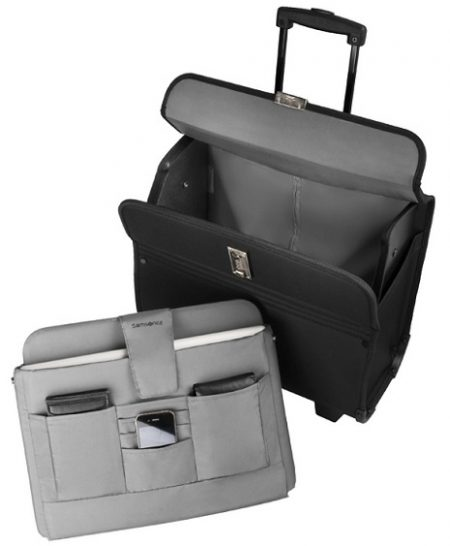 SAMSONITE PILOT CASE ΜΕ ΤΡΟΧΟΥΣ