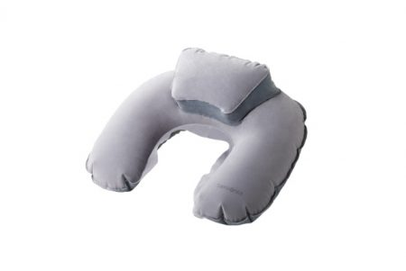 SAMSONITE U23 302 DOUBLE COMFORT TRAVEL PILLOW WITH POUCH